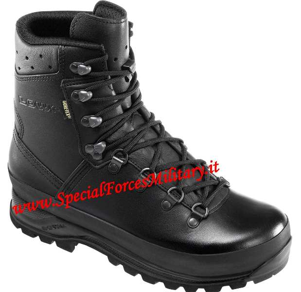 ANFIBI LOWA MOUNTAIN BOOT GTX NERO